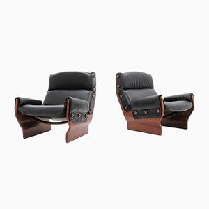 P110 Italian Armchairs by Osvaldo Borsani for Tecno, 1965, Set of 2