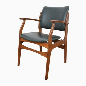 Mid-Century Danish Teak Side Chair, 1960s