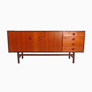Mid-Century Danish Teak & Rosewood Sideboard, 1950s