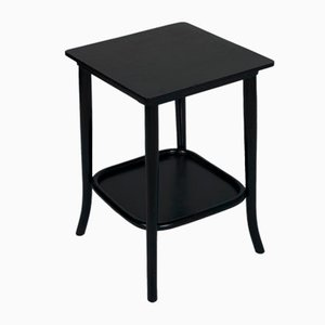 Antique Ebonized Walnut Side Table by Josef Hoffmann for Thonet