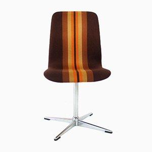 Niedrige Oxford-Stühle mit Bezug aus Angorawolle von Arne Jacobsen für Fritz Hansen, 1963, 6er Set