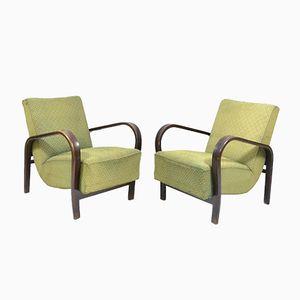 Vintage Sessel von Interier Praha, 1950er, 2er Set
