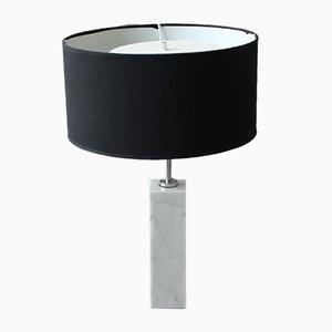 Lampada da tavolo Bassett in marmo di Florence Knoll per Knoll International, anni '60