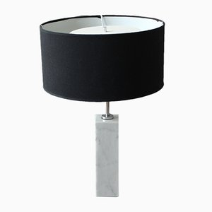Model Bassett Marble Table Lamp by Florence Knoll for Knoll International, 1960s