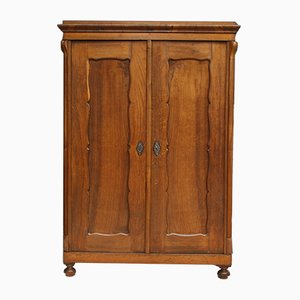 Antique Biedermeier Ash Cabinet, 1850s
