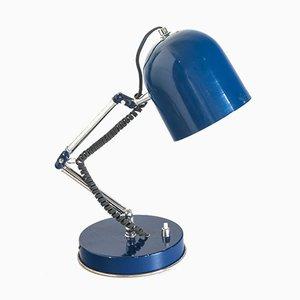 Lampada da tavolo in metallo laccato, anni '70