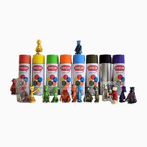 Designer Spielzeugfiguren von Michael Lau für Crazy Smiles, 2006