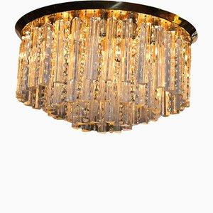 Lampada da soffitto grande di J.T. Kalmar per Kalmar Franken KG, anni '60