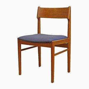 Vintage Teak Dining Chairs, Set of 6