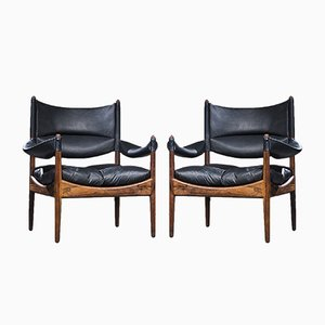 Modus Armchairs by Kristian Vedel for Sören Willadsen, Denmark, 1963, Set of 2