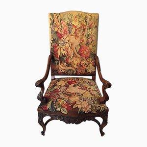 Antiker Tapisserie-Sessel