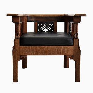Art Deco Armchair by Lion Cachet, 1929