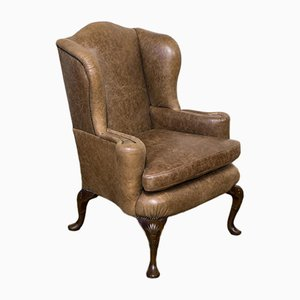 Edwardian Winged Armchair