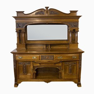 Edwardian Oak Sideboard