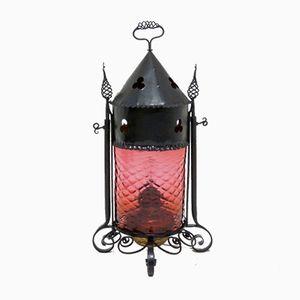 Victorian Iron Rocket Lantern