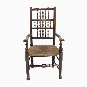 Georgian Lancashire Armchair, 1780s