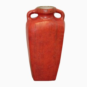 Vaso vintage in ceramica di Ruscha, anni '60