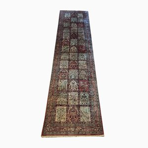 Vintage Goum Silk Carpet, 1980s