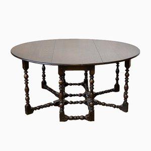Viktorianischer Gateleg Tisch aus Eiche