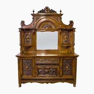 Victorian Pollard Oak Sideboard