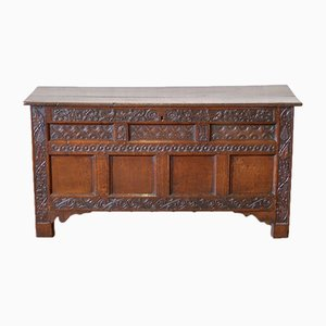 17th Century Oak Coffer