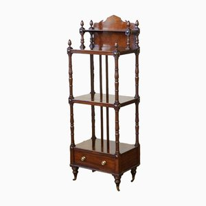 Georgian Mahogany Whatnot, 1800s