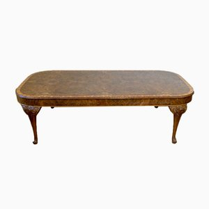 Large Walnut Dining Table, 1930s