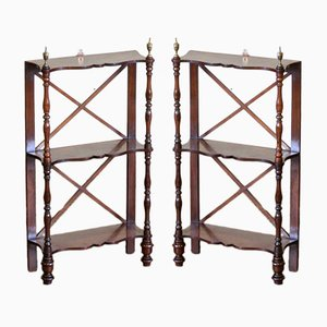 Regency Wall Shelves, 1820s, Set of 2