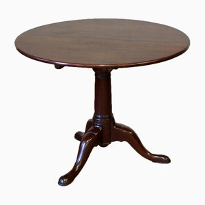 Georgian Mahogany Folding Table