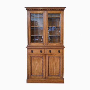 Edwardian Oak Bookcase