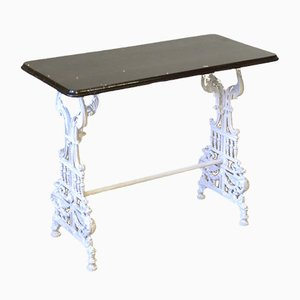 Victorian Cast Iron Conservatory Table, 1870s