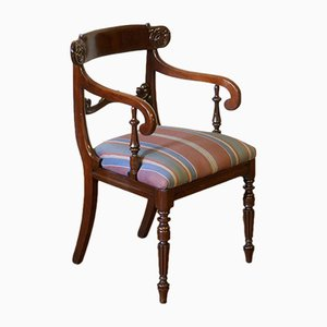 Chaise de Bureau William IV en Acajou, 1835