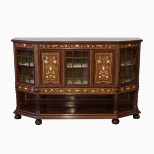 Antique Mahogany Side Cabinet from T. Simpson & Sons
