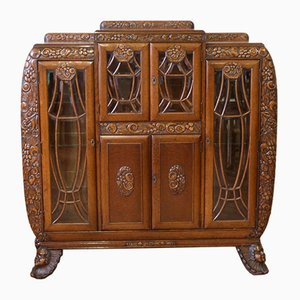 Art Deco Oak Cabinet
