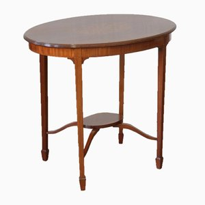 Antique Edwardian Mahogany Occasional Table