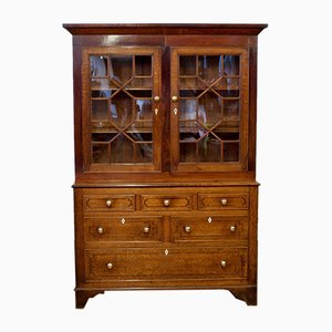 Welsh Oak and Mahogany Cupboard, 1800s