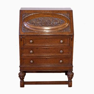 Oak Secretaire, 1920s