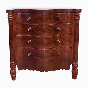 Victorian Mahogany Chest of Drawers, 1880
