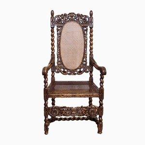 Victorian Carolean Style Armchair
