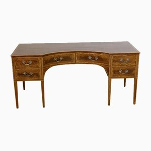 Antique Edwardian Mahogany Desk, 1900s