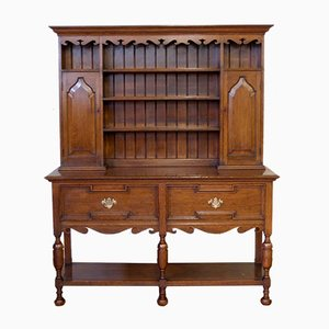 Antique Victorian Oak Dresser