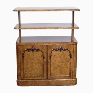 William IV Pollard Oak Cabinet, 1830s