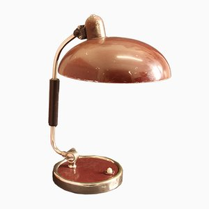Lampada da scrivania nr. 6632 rossa di Christian Dell per Kaiser Idell, 1934