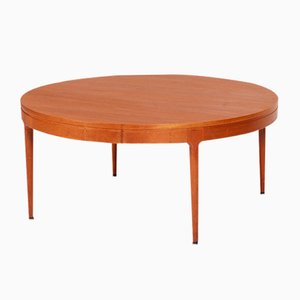 Large Teak Coffee Table by Severin Hansen for Haslev Møbelsnedkeri, 1960s