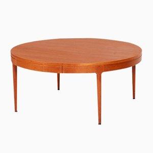 Tavolino da caffè grande in teak di Severin Hansen per Haslev Møbelsnedkeri, anni '60