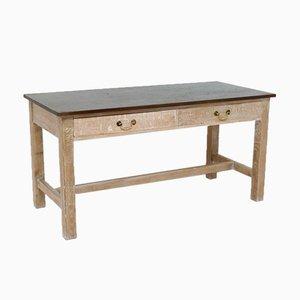Vintage Mahogany and Oak Dining Table