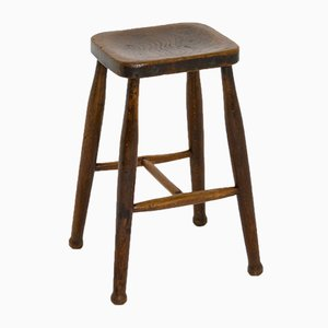 Small Elm Stool, 1895