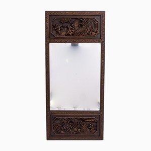 Miroir Antique Sculpté, Chine