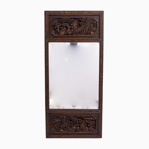 Specchio antico intagliato, Cina