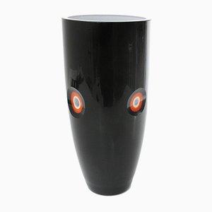 Italian Glass Vase, 1970s